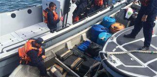 Capturadas dos embarcaciones en Buenaventura