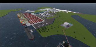 Puerto Solo - Regasificadora del pacifico