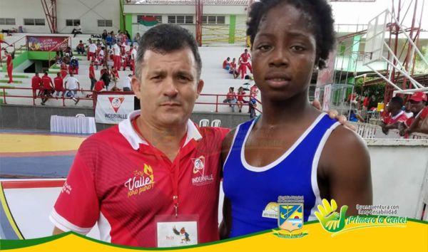 ac87c0d8185c La luchadora Tatiana Rentería en la categoría 70 kilogramos ganó la  undécima medalla de oro para Buenaventura
