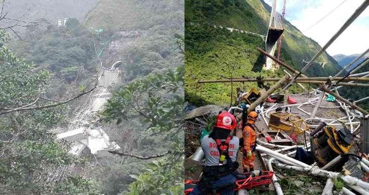Fotos: Así quedo el puente de Chirajara luego del Colapso | Noticias de Buenaventura, Colombia y el Mundo