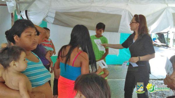 Epidemiólogos de la Secretaria de Salud visitan a comunidad ...