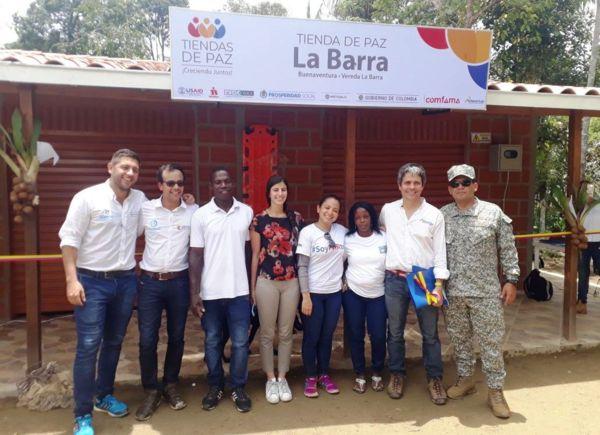 Comunidad de La Barra en Buenaventura continúa senda de progreso con la inauguración de su Tienda de Paz | Noticias de Buenaventura, Colombia y el Mundo