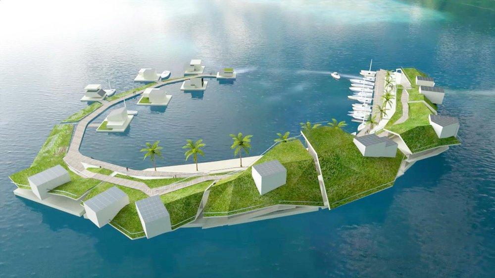 Una isla flotante está en proceso de construcción con su propio gobierno y criptomoneda | Noticias de Buenaventura, Colombia y el Mundo
