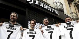 Colapsó tienda digital de la Juventus por petición camisetas CR7 bc7ebdc9c6fbb