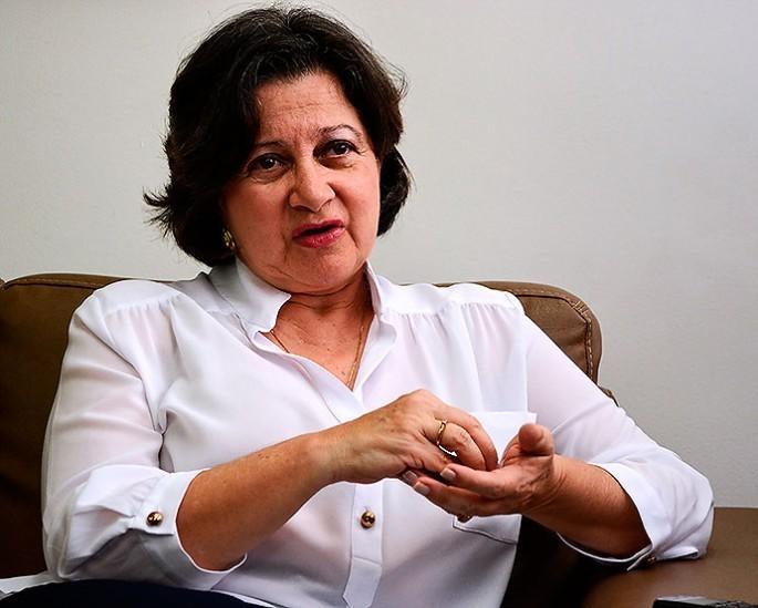 secretaria Departamental de Salud, María Cristina Lesmes