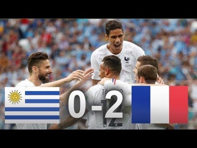 Uruguay 0 - 2 Francia   Noticias de Buenaventura, Colombia y el Mundo