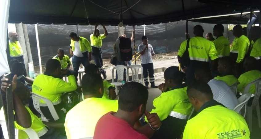 15 días completó la huelga en TCBUEN, de Buenaventura, y no se vislumbra arreglo   Noticias de Buenaventura, Colombia y el Mundo