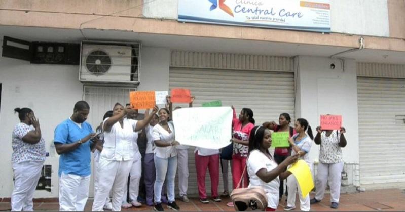 Pacientes de Medimás sin atención en Buenaventura porque el personal médico está en paro   Noticias de Buenaventura, Colombia y el Mundo