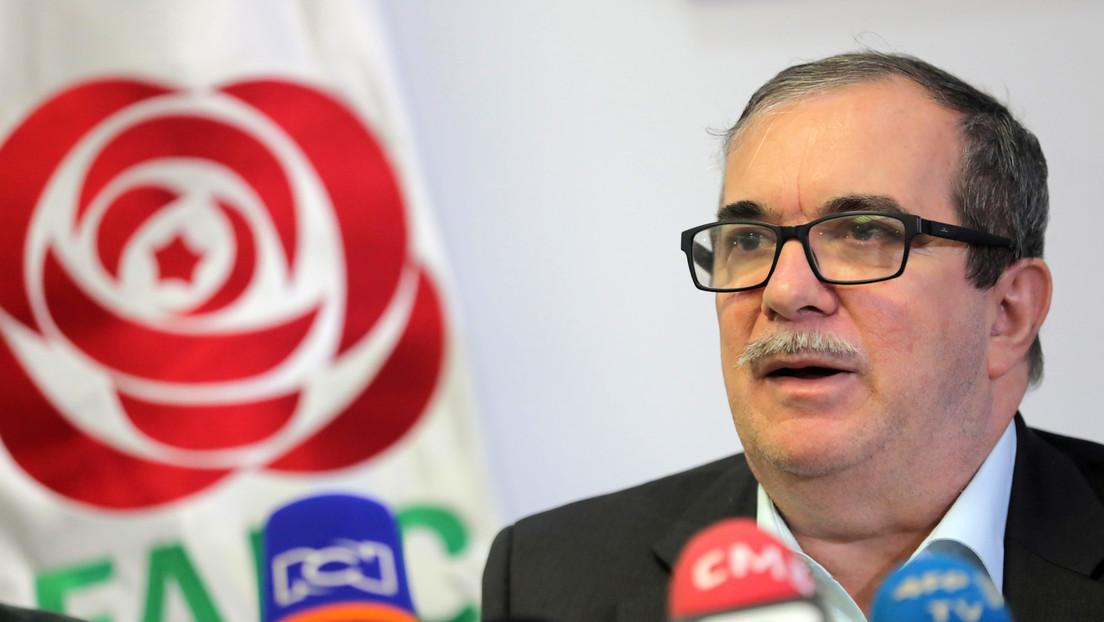 """'Timochenko' plantea cambiar el nombre al partido FARC: """"Está creando dificultades"""""""