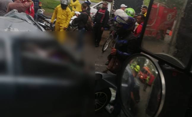 Cuatro jóvenes futbolistas murieron en accidente de tránsito en vía Candelaria - Cali