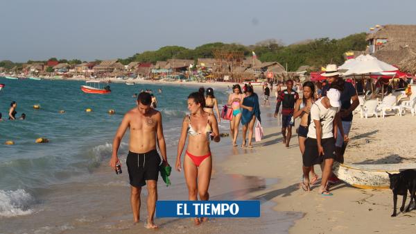 El llamado de alerta por caótico panorama de las playas en Cartagena