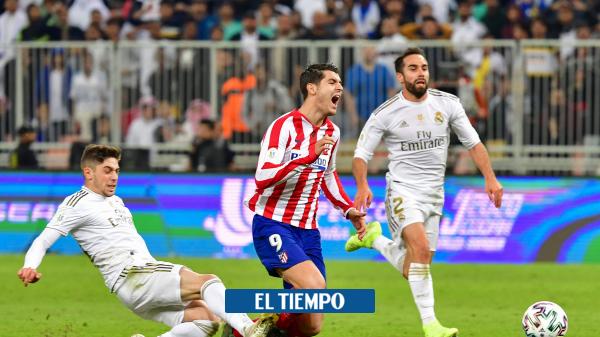 Federico Valverde: 'valió la pena' sobre su jugada en la Supercopa