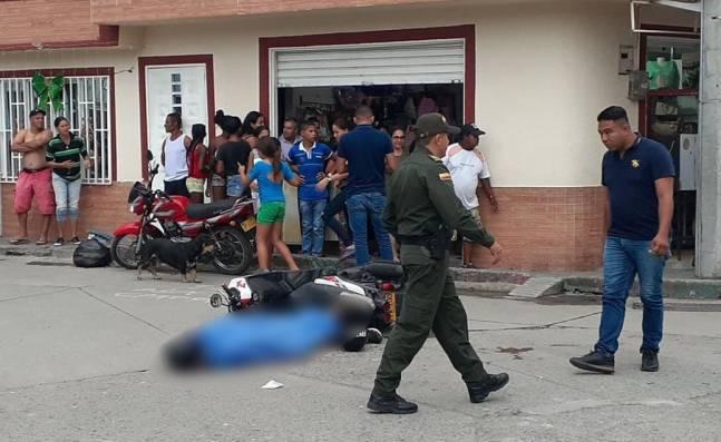 Un hombre fue asesinado en el barrio la Inmaculada en Tuluá