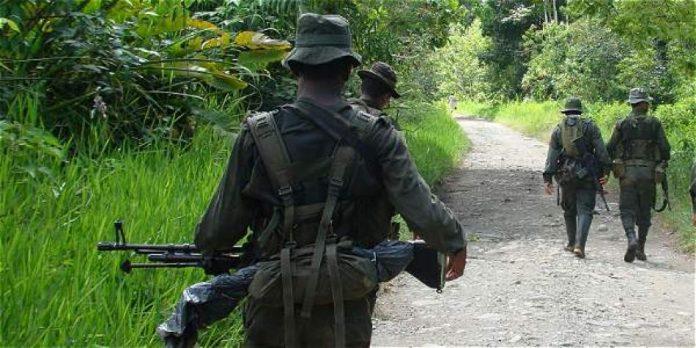 militares patrullando en el pacífico