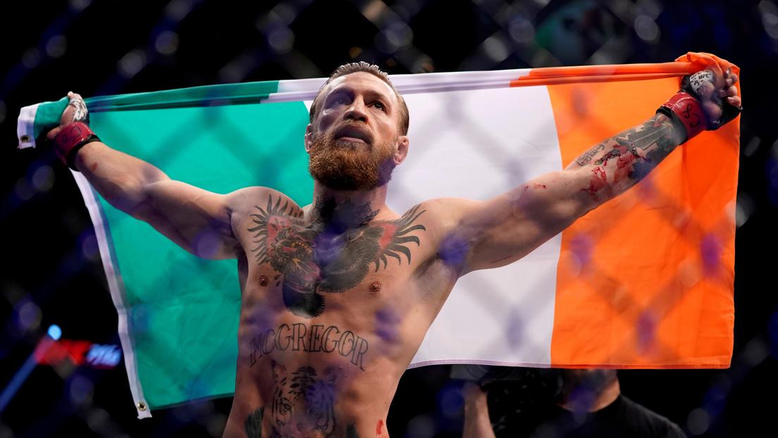 """Hice historia esta noche"": McGregor comenta su demoledor triunfo ante Cerrone"