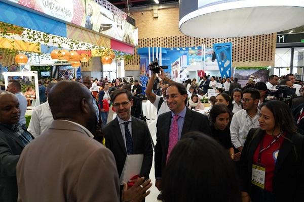 Víctor Vidal Promociona Turismo de Buenaventura en ANATO