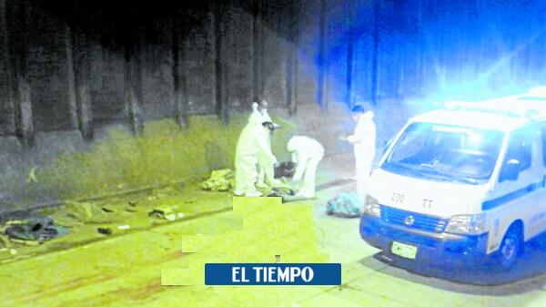 Cuatro personas fueron asesinadas en la noche del sábado en Medellín