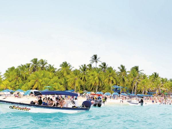 Las basuras ahogan a la isla de San Andrés