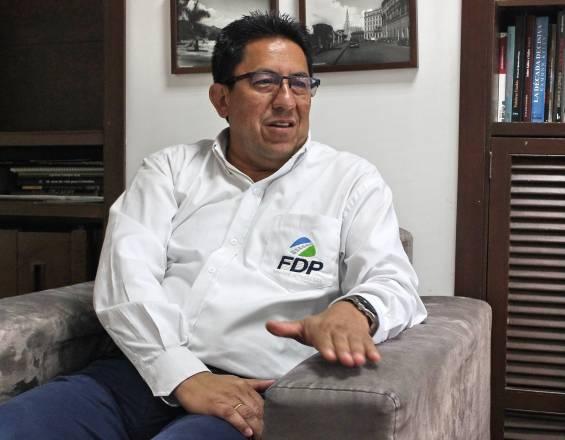 Otoniel González, gerente del FDP