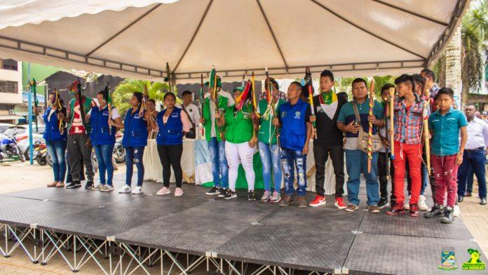 Posesión de Gobernadores Indígenas en Buenaventura
