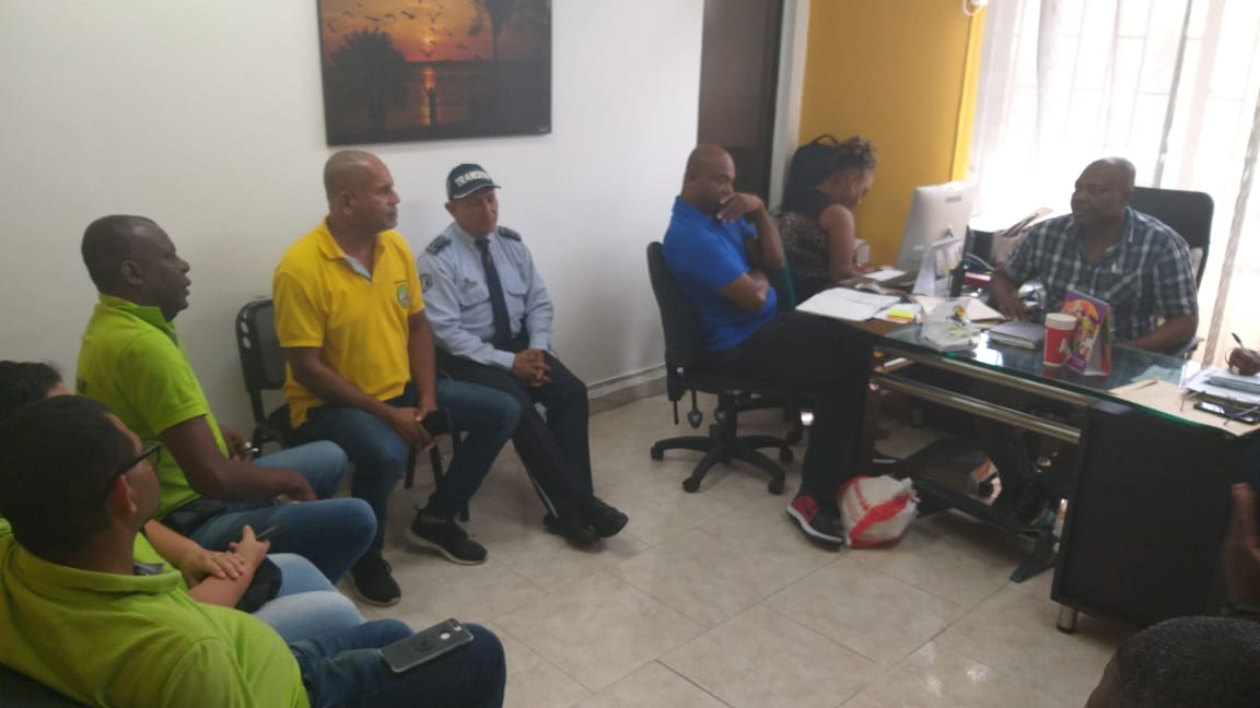 Reunion Transportadores y Alcaldia de Buenaventura