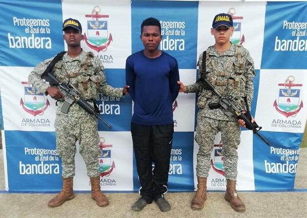 Integrante del clan del golfo detenido