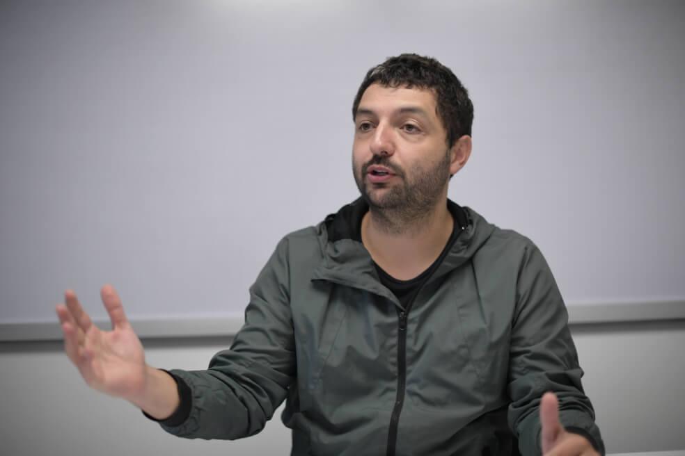 Joaquín Garzón abogado que ha defendido a la comunidad que lideró Temistocles Machado