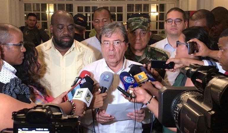 Carlos Holmes Trujillo - Ministro de defensa en Buenaventura
