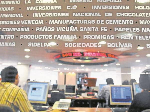 Mercado accionario local se paralizó por fallas técnicas