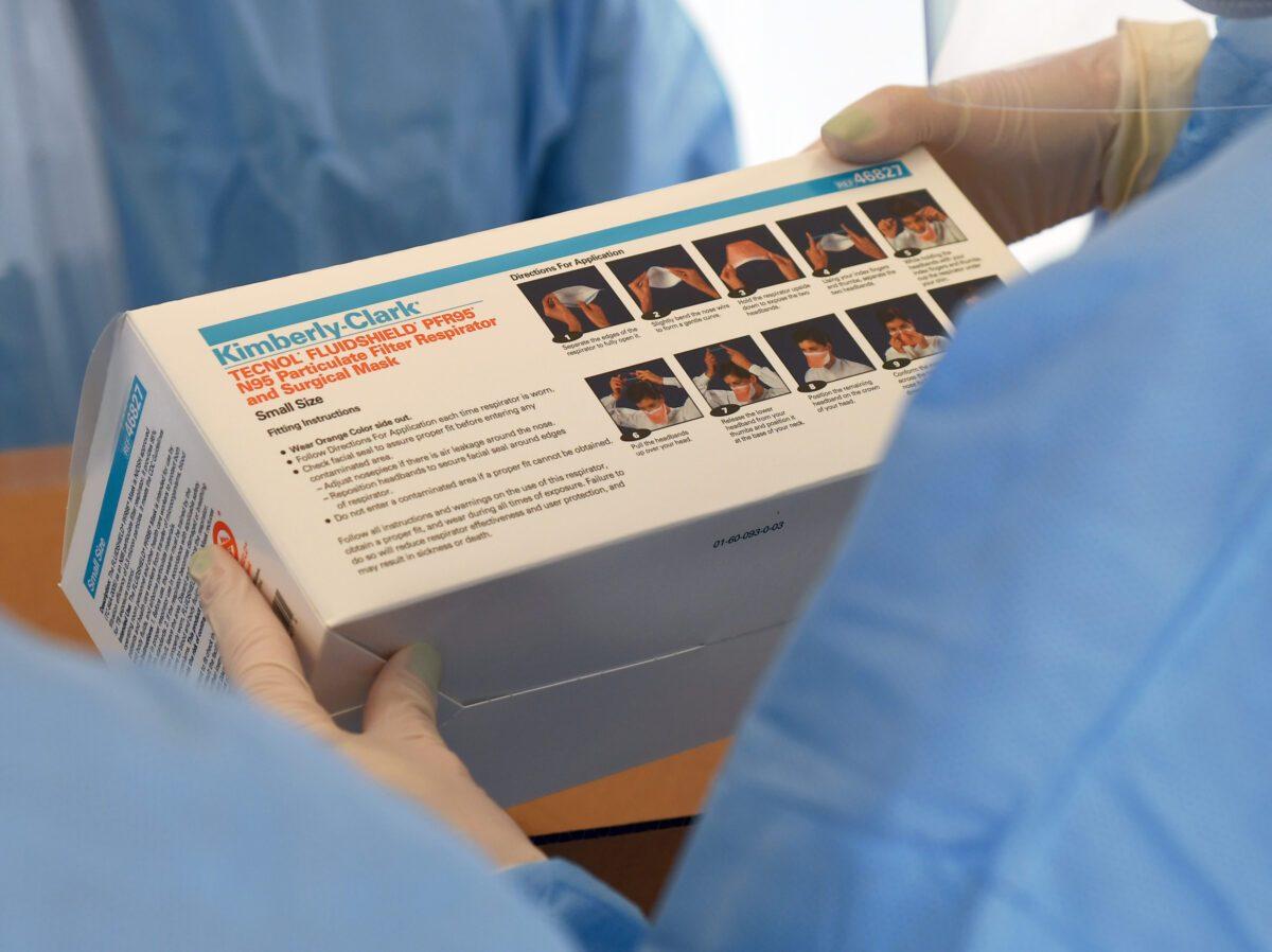 Tecnología para esterilización de mascarillas es aprobada por la FDA   Virus del PCCh   COVID-19   Pandemia