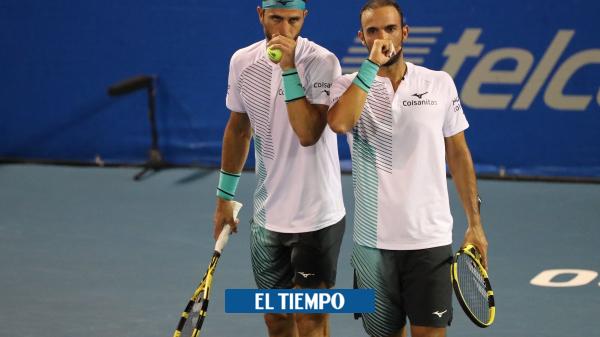 Video de entrenamiento de Juan Sebastián Cabal con su hijo Jacobo - Tenis - Deportes