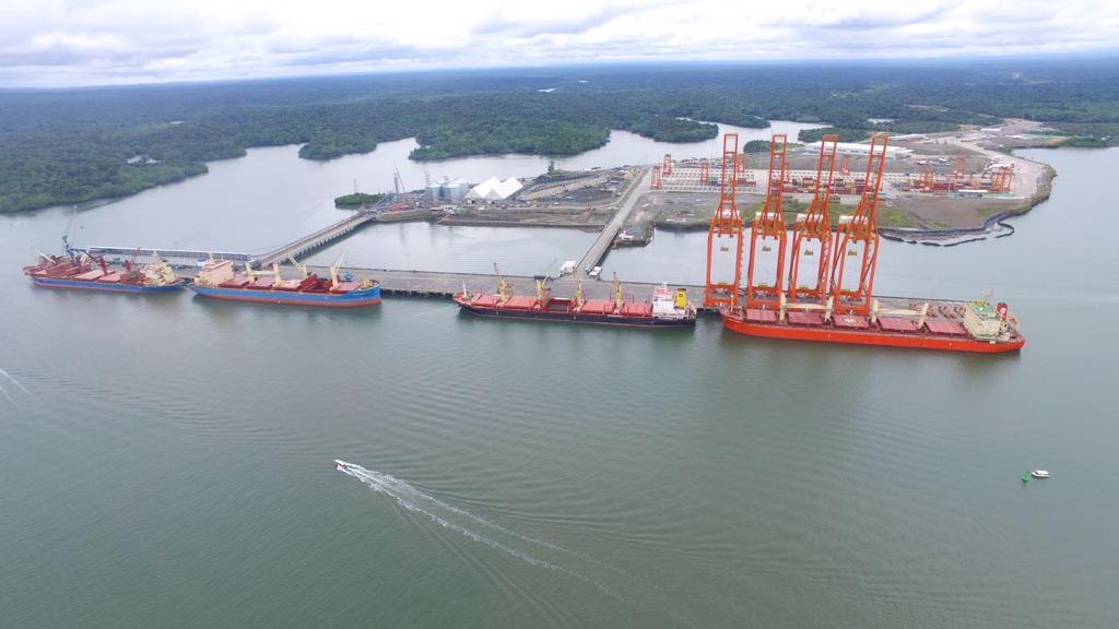 La zona portuaria de Buenaventura se consolida como uno de los más importantes puertos de país, líder de carga del comercio exterior colombiano.
