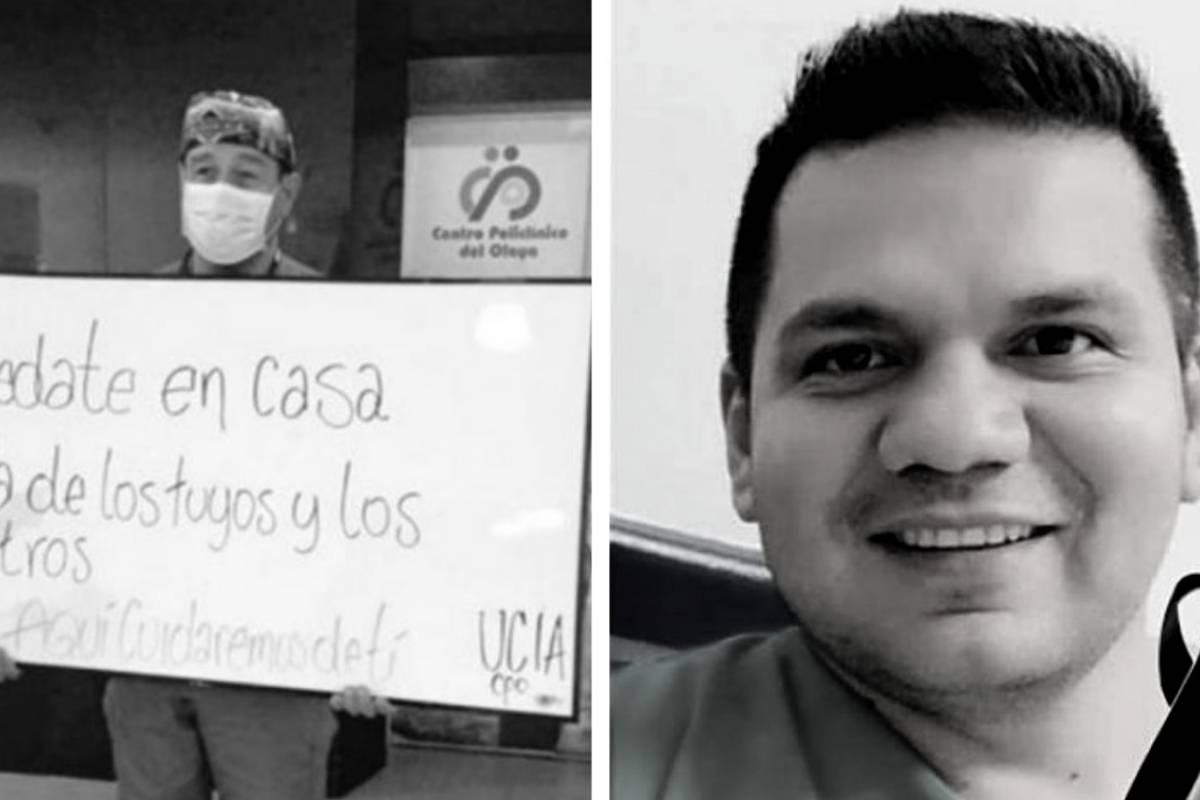 """CORONAVIRUS COLOMBIA: La campaña para dejar de llamar """"héroes"""" a médicos en Colombia."""