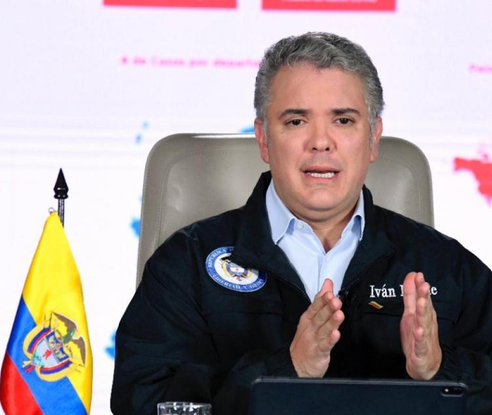 Coronavirus: el presidente Duque explica ampliación de la cuarentena - Gobierno - Política