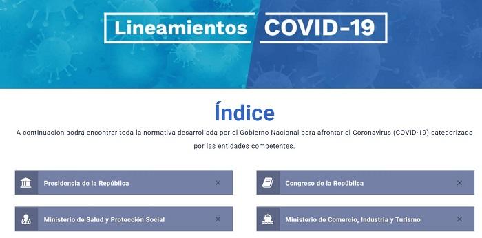 Decretos covid-19 colombia