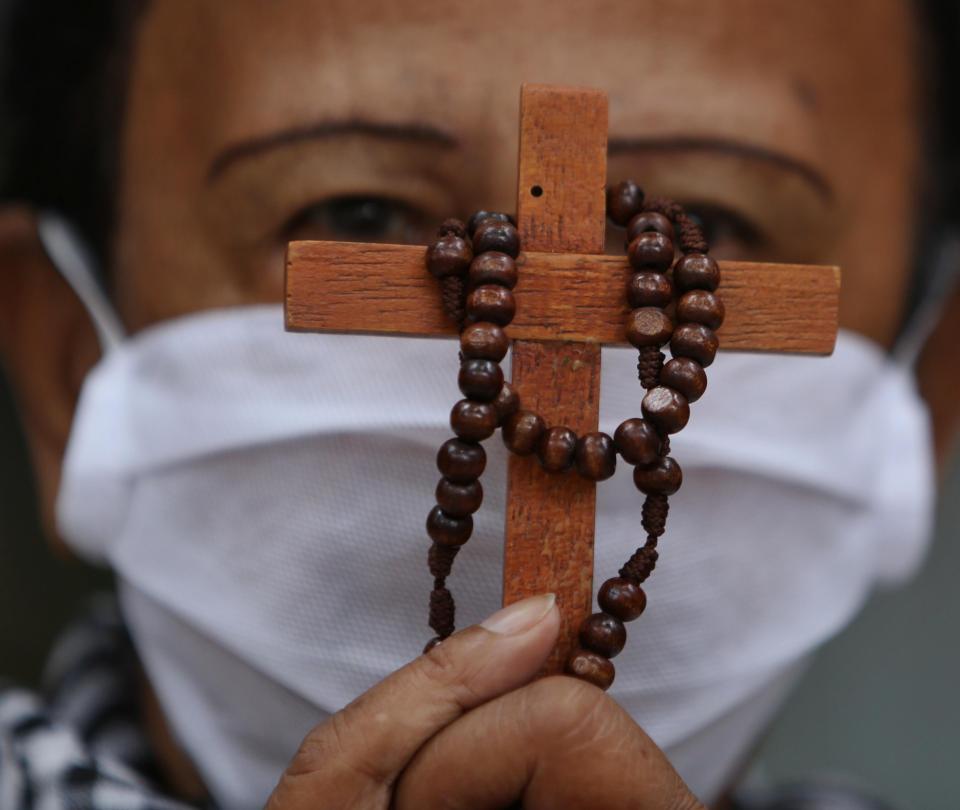 El obispo auxiliar de Cali reflexionó bajo cuarentena por covid-19 - Cali - Colombia