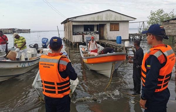 Gremio de Cabotaje entrega 1000 toneladas de víveres en el Pacífico: Dimar