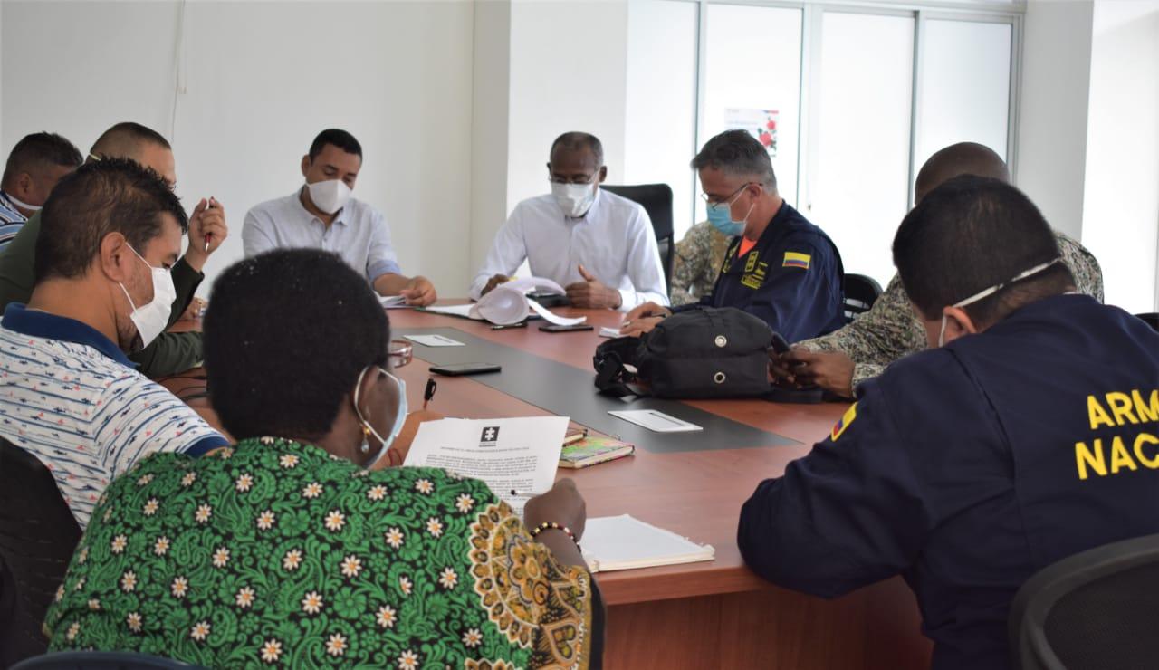 Fuerza pública toma medidas para restablecer el orden público en Bahía Solano