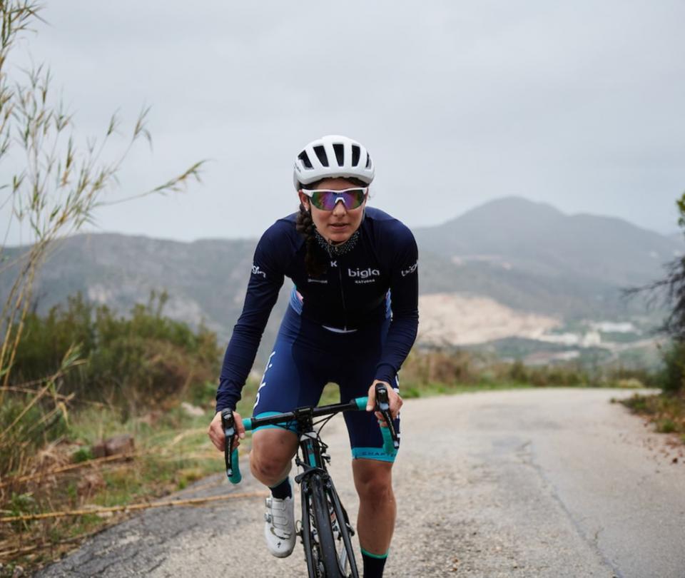 Historia Elise Chabbey ciclista que se volvió médico por coronavirus - Ciclismo - Deportes
