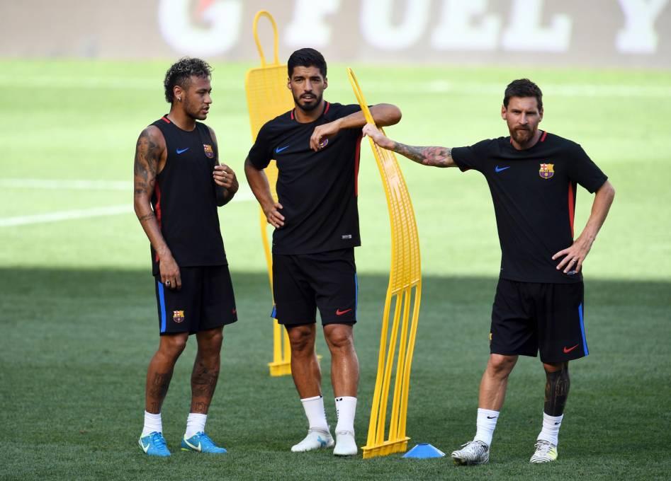 Luis Suárez habló sobre el posible regreso de Neymar al Barcelona