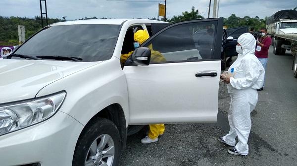Alcalde supervisó controles a la entrada a Buenaventura