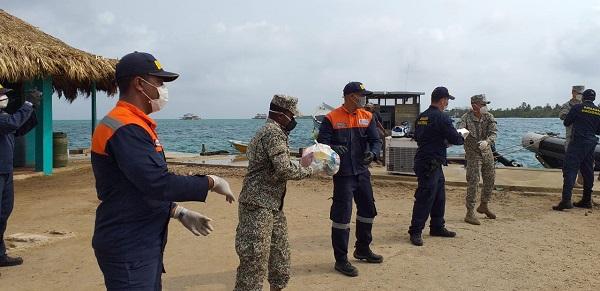 Dimar promueve campañas de ayuda para las familias costeras del país