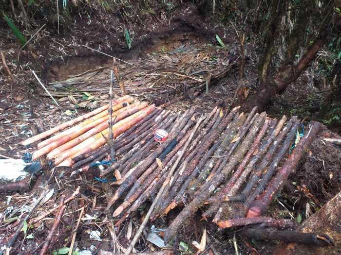 Aumentan los capturados por minería ilegal en el Parque Nacional Natural Farallones de Cali.
