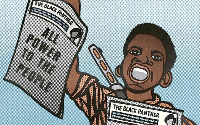 El papel político del arte: Taller en el marco de la exposición Panteras Negras
