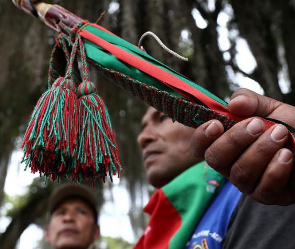 32 integrantes del Ejército fueron liberados por Guardia Indígena del Cauca - Cali - Colombia