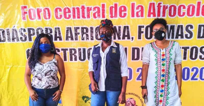 ALCALDÍA REALIZÓ FORO CENTRAL DE LA AFROCOLOMBIANIDAD ENFOCADO DESDE LA PERSPECTIVA DE LAS MUJERES