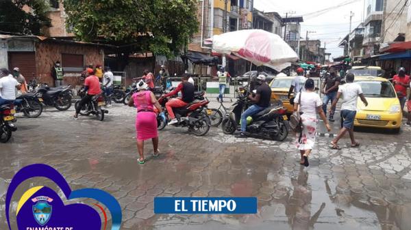 Alcaldesa de Tumaco le pide a la gente que hagan tapabocas con medias - Cali - Colombia