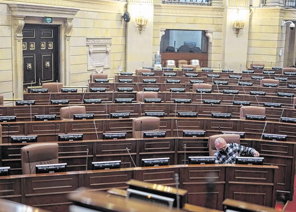 Avanzan las sesiones virtuales en el Congreso de la República