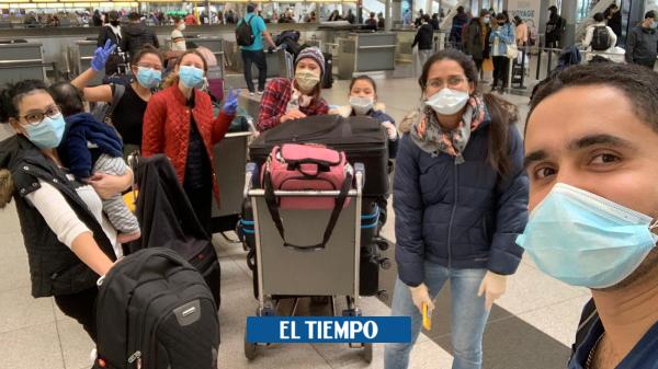 Coronavirus: historia de colombiano que regresó al país por la pandemia - Gente - Cultura