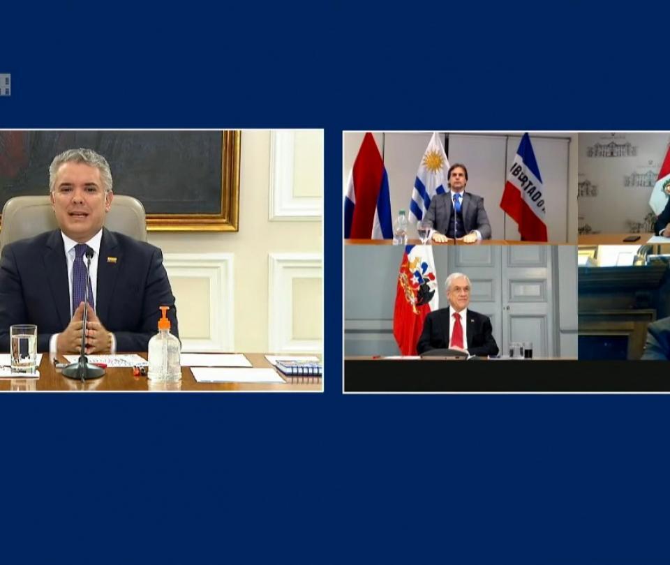 Coronavirus: presidentes de Sudamérica invitan a un trabajo coordinado para enfrentar pandemia - Gobierno - Política